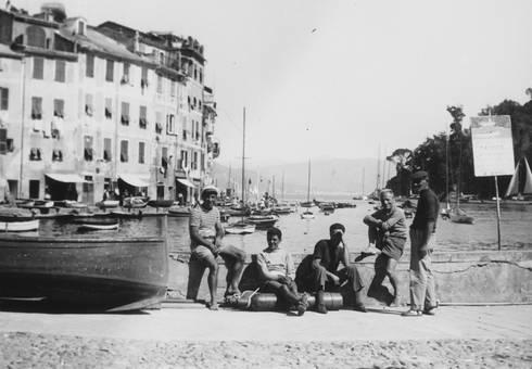 Schiffer in Portofino