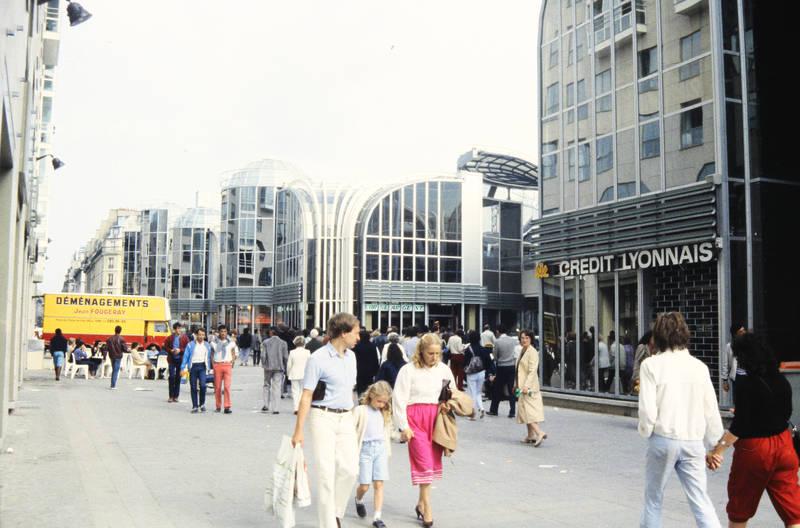 einkaufen, Einkaufszentrum, Frankreich, markthalle, Paris, reise, Umzugswagen, urlaub