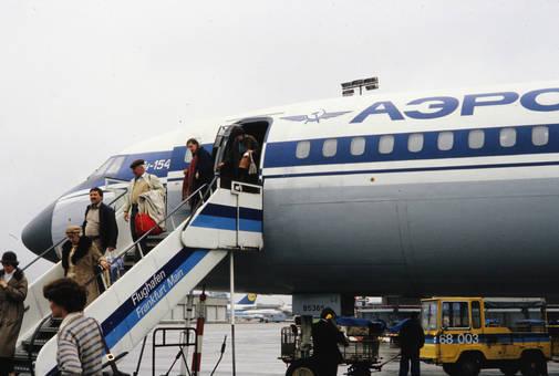 Russisches Flugzeug