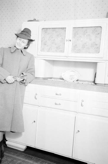 Buffetschrank, einrichtung, Handschuh, hut, mantel, Möbel, mode