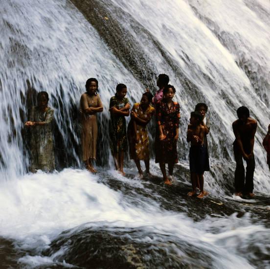 ausflug, Fels, reise, Stein, urlaub, Wasserfall