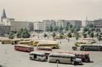 Parkplatz für Busse und PKW