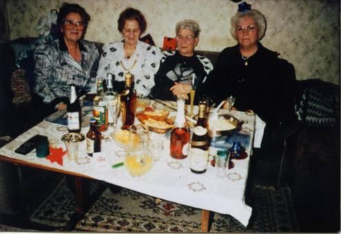 Beim Familientreffen