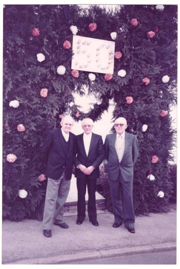1982, 50, baesweiler, Beggendorf, hecke, tor, torbogen