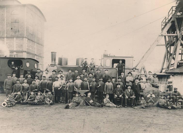 arbeit, Arbeiter, Arbeitskleidung, Bergbau, Bergwerk, hammer, lokomotive