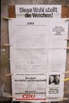 Plakat zur Bundestagswahl 1972