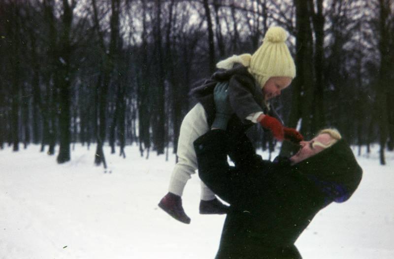 Handschuh, Kälte, Kindheit, Mutter, mütze, schal, schnee, winter