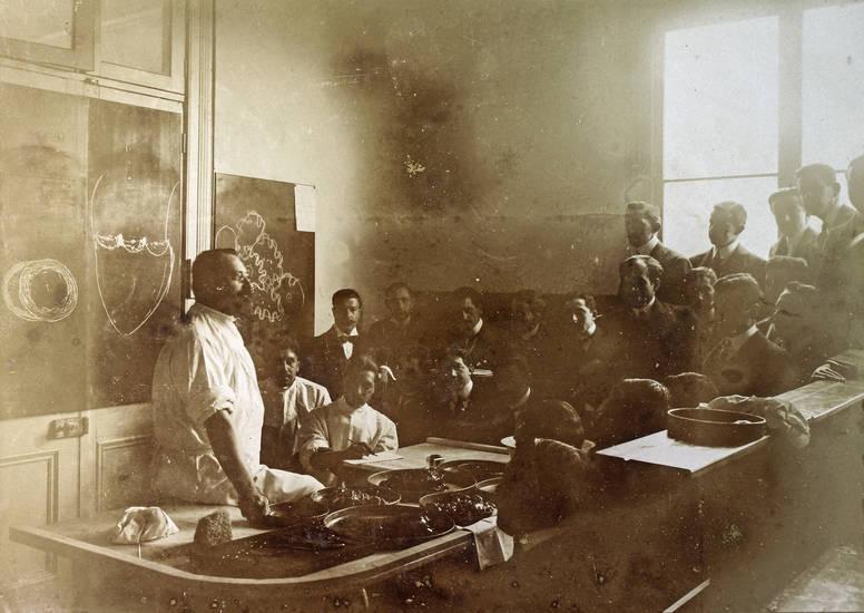 hörsaal, pathologe, professor, santiago, santiago de chile, Südamerika, tafel, universität, westenhöfer