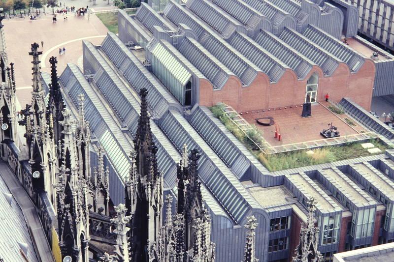 Architektur, Dach, Dächer, dom, köln, Kölner Dom, Museum, Museum Ludwig