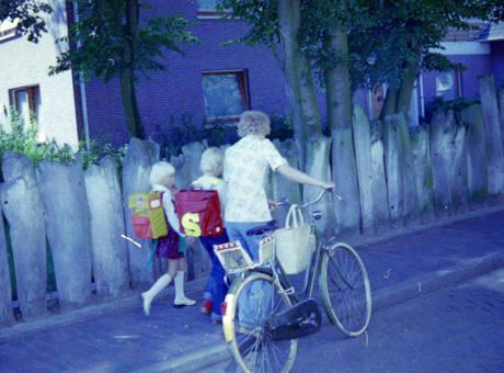 Heimweg aus der Schule