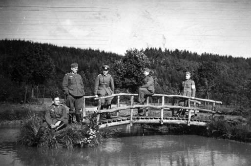 Auf der Brücke