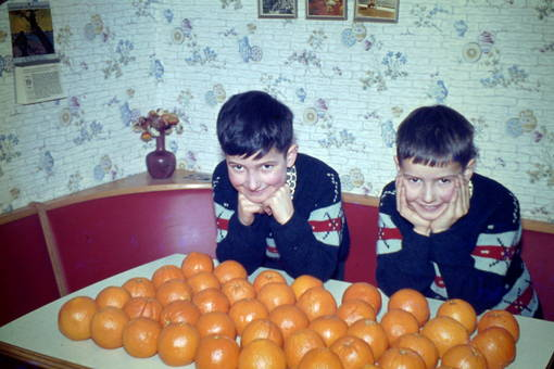 Apfelsinenparty