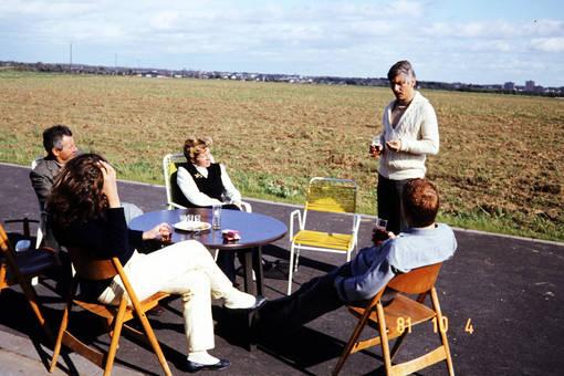 Gemütliches Zusammensitzen