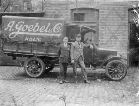 Lieferwagen A. Goebel