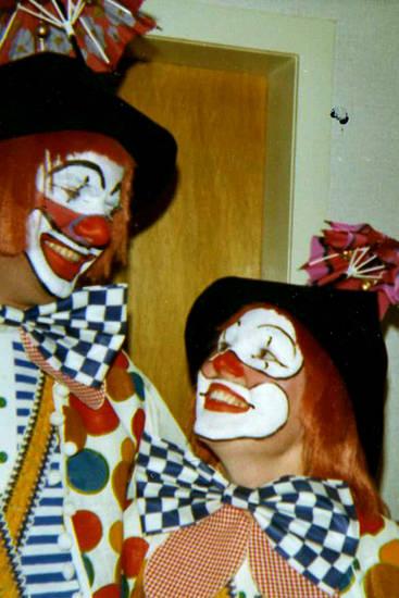Aachen, Burtscheid, Clown, clownskostüm, Fasching, karneval