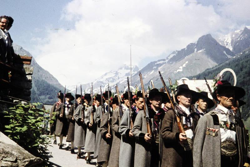 Gewehr, großglockner, Österreich, osttirol, Prozession, Uniform, urlaub
