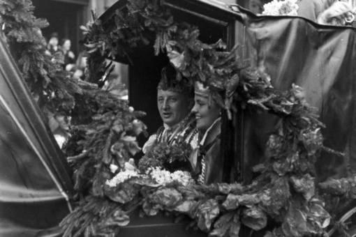 Prinz Willy II. und Charlotte