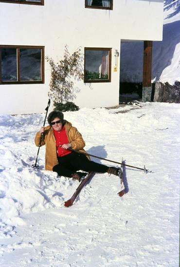 haus, schnee, Ski, Skistock, skiurlaub, sonnenbrille, urlaub, winter