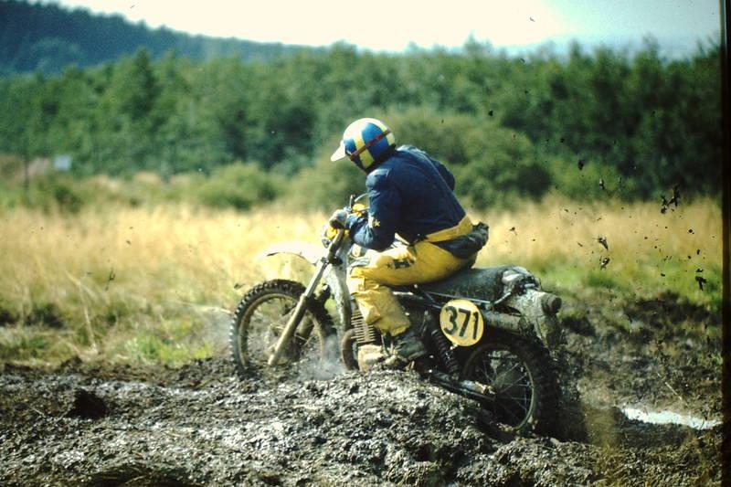 Helm, internationales sechstage-rennen, Motorrad, schlamm, sechstagefahrt, Sechstagerennen