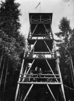 Aussichtsturm Löher Kopf 1929