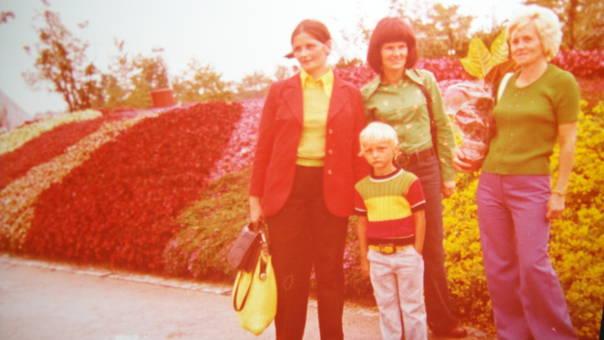 Farbige 1970er