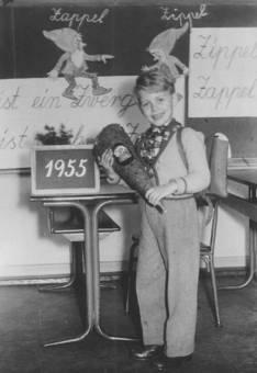 Einschulung 1955