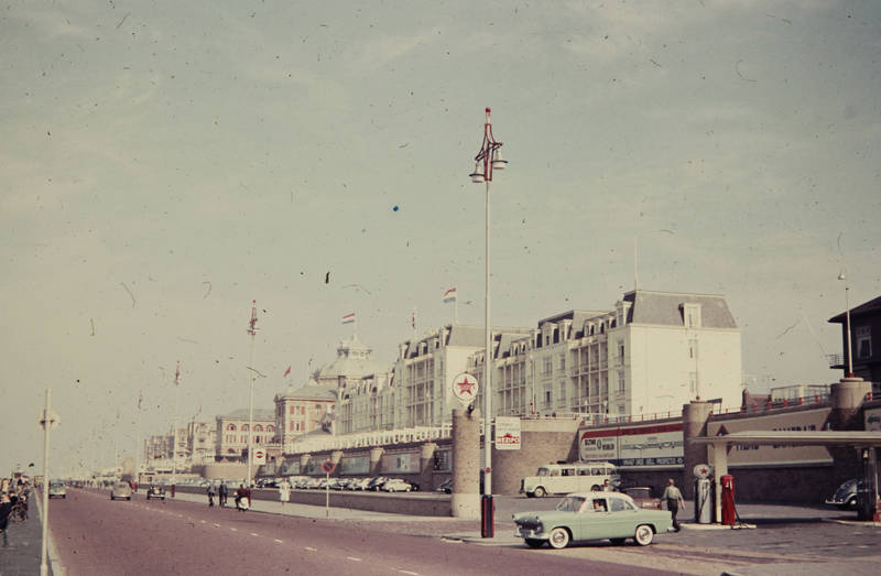 auto, flagge, KFZ, PKW, Scheveningen
