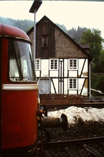 Schienenbus, VT 98, Wildbergerhütte