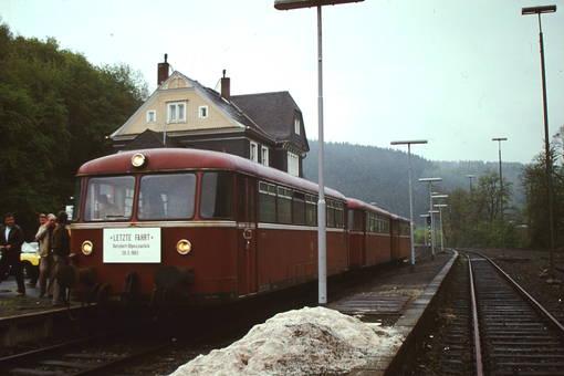 Letzter Halt in Freudenberg
