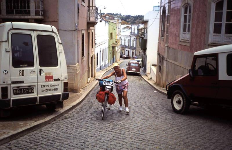 algarve, auto, Fahrradtour, KFZ, PKW, Portugal, Transporter