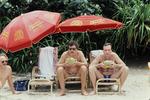 Kokosnüsse trinken