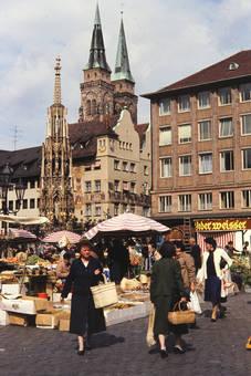 Markt in Nürnberg