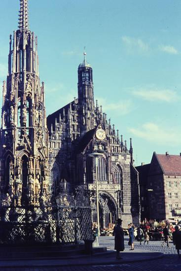 Frauenkirche, kirche, Nürnberg