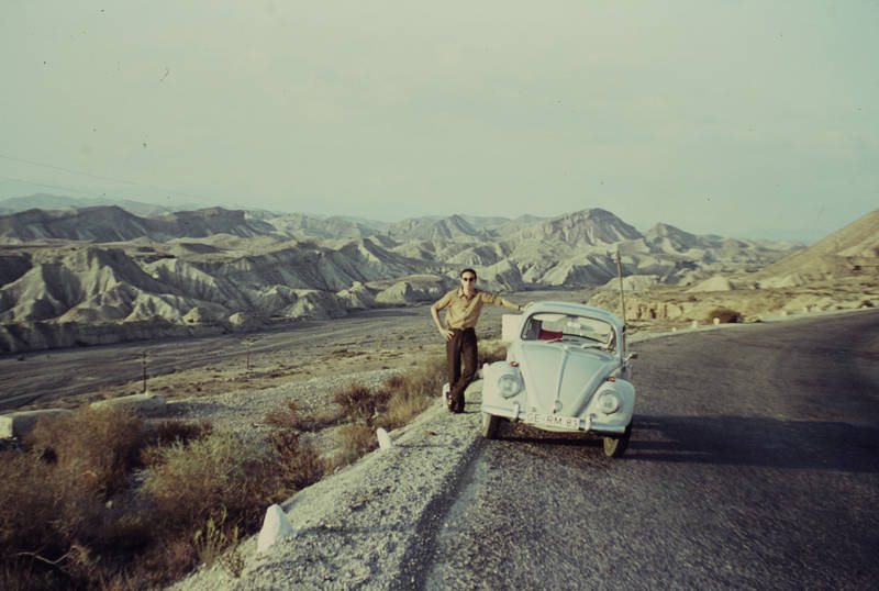 autofahrt, käfer, KFZ, pause, PKW, reise, Spanien, urlaub, vw, VW Käfer
