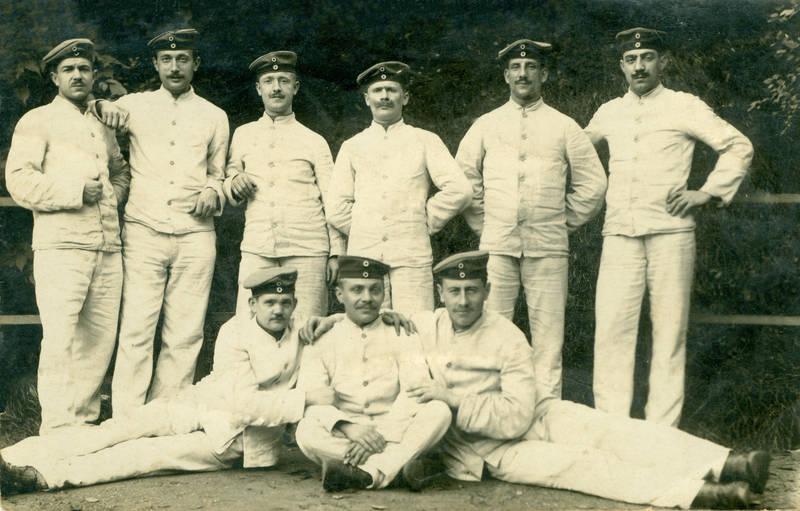 kaiserreich, mann, rekruten, Weltkrieg, WK1