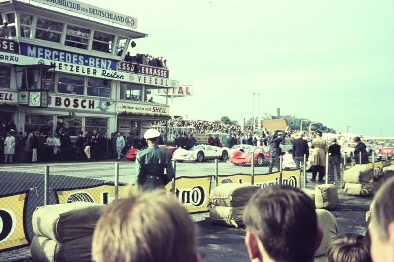 Bosch, Continental, KFZ, Mercedes-Benz, nürburgring, Porsche, Porsche 906 Carrera, rennwagen, Shell, start, startlinie, total, Veedol, wagen