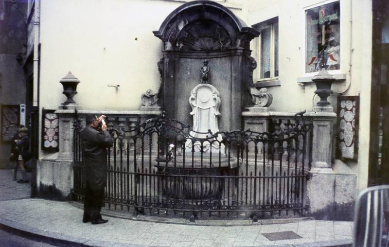 anzug, belgien, Brüssel, ecke, Kamera, Manneken Pis, Skulptur, tourist