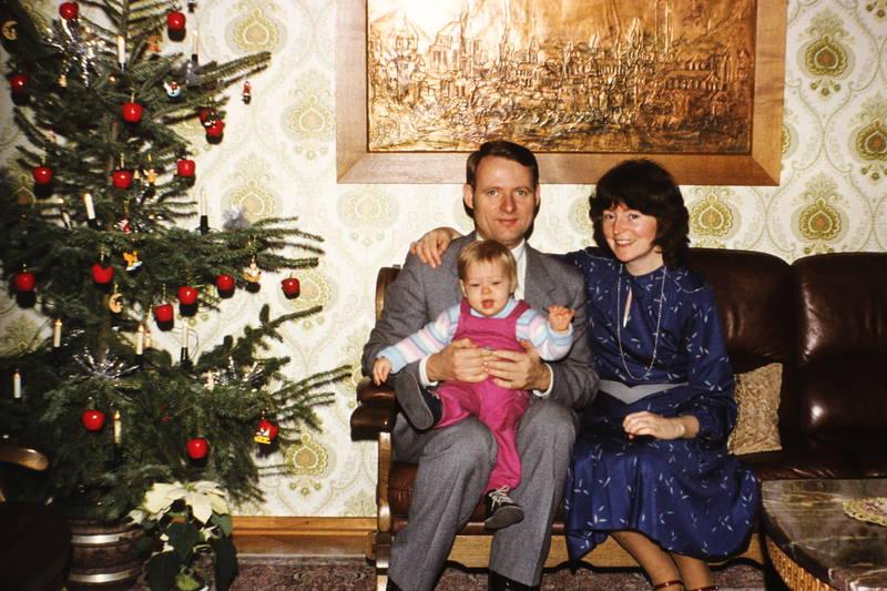 christbaum, familie, Kindheit, Weihnachten, Weihnachtsbaum