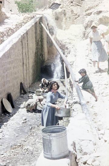 Abwasch, arabien, frau, Hausarbeit, Maalula, Syrien