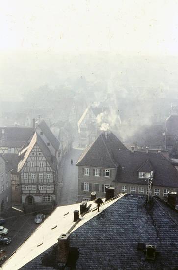 Fachwerkhaus, gebäude, haus, Heidelberg, straße