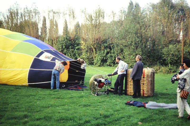 Heiße Luft, Heißluftballon, Heißluftballonfahrt, korb