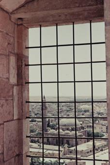 Blick auf Aleppo