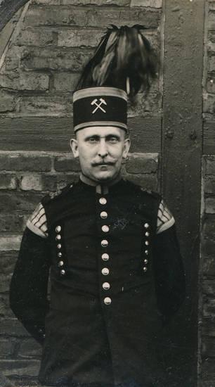 Bergmann, bergmannstracht, schachthut, Tracht, Uniform