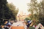 Zeltlager bei Köln
