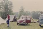 Mit dem Käfer zum Campen