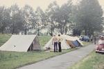 Campen am Wegrand