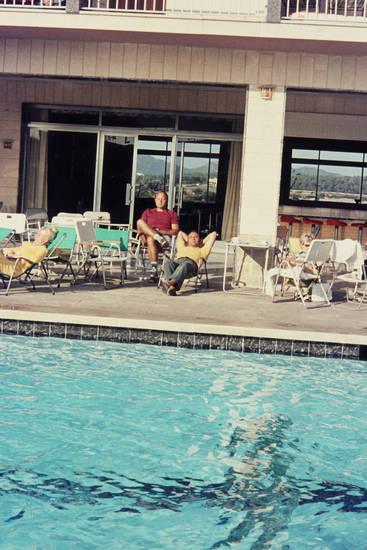 entspannen, Hotel, Kaffeetassen, mode, pool, sandalen, Socken, urlaub, Urlaubsreise