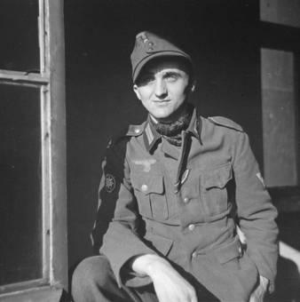 Soldat im Porträt