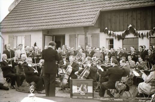 Musikkapelle mit Chor