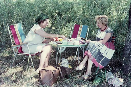 Picknick im Freien